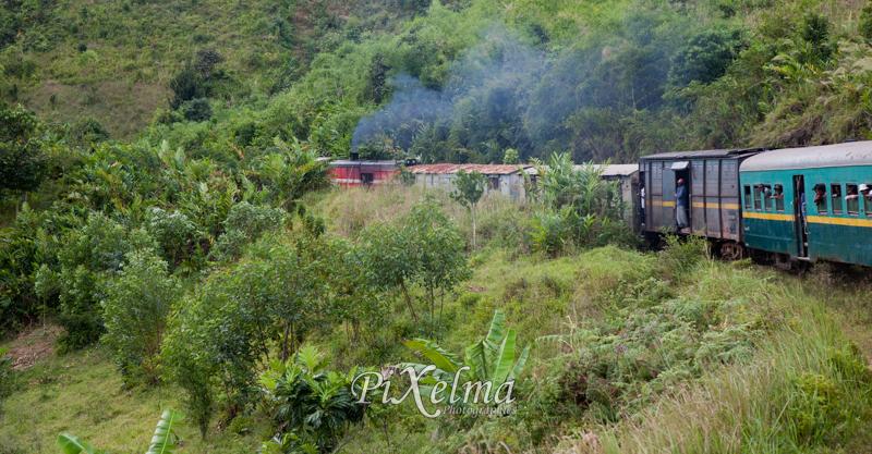 le train de madagascar reliant fianarantsoa et manakara