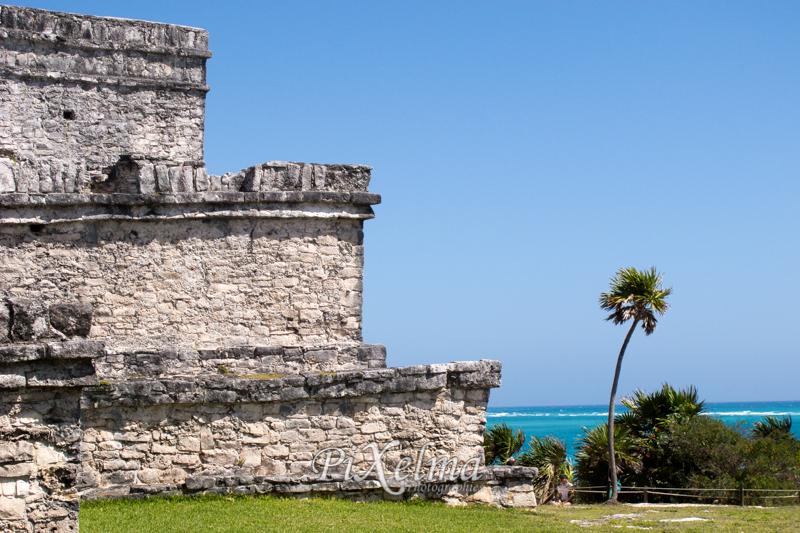 Le site archéologique de Tulum au mexique